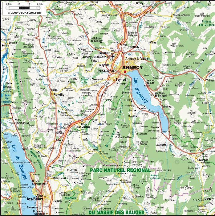 Annecy Aix-Les-Bains
