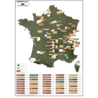 Regions des Fromages