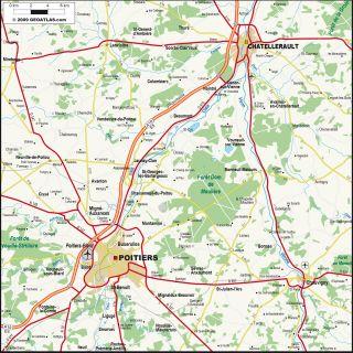 Poitiers Chatellerault