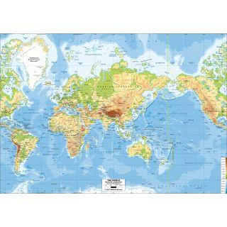 Monde - Mercator Asia