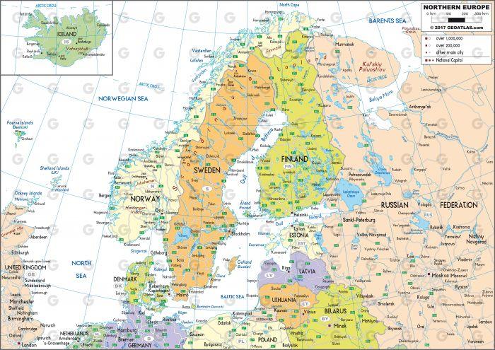 Europe du Nord