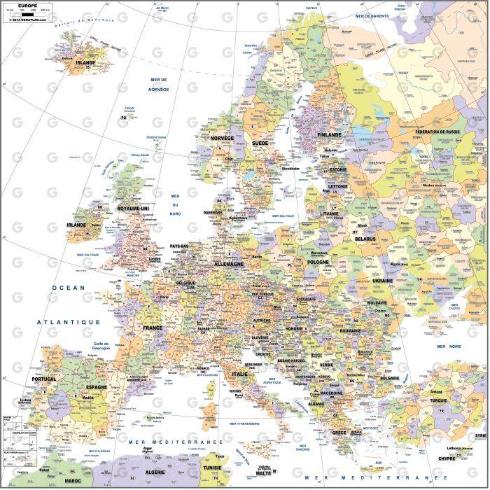 Europe Codes-Postaux