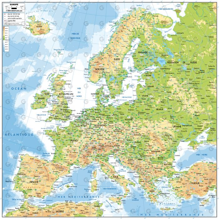 Europe Nord-Sud
