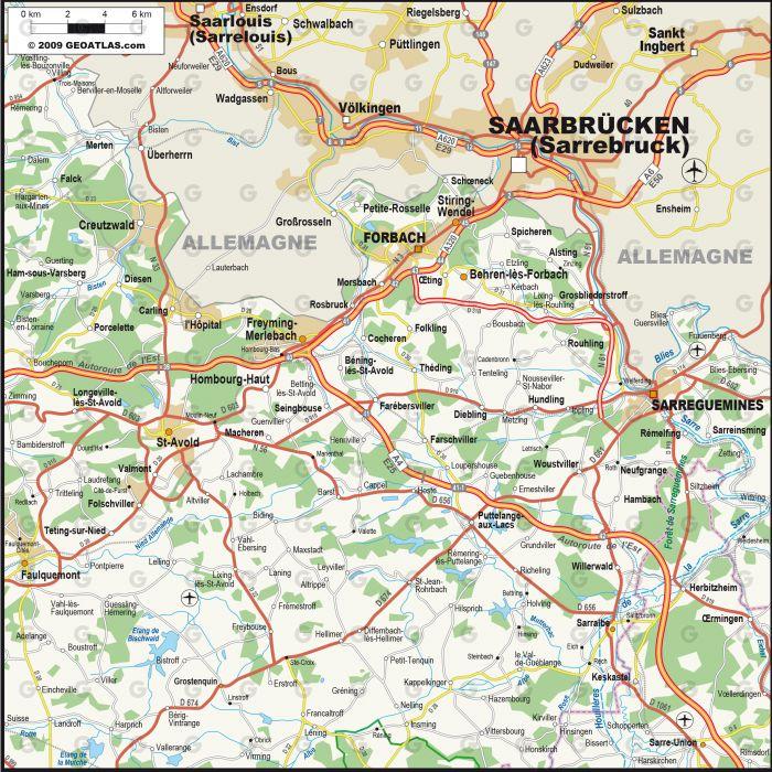 Forbach Sarreguemines